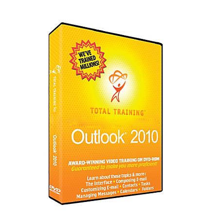 Total Training for Microsoft Outlook 2010, Download Version