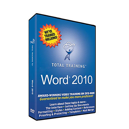 Total Training for Microsoft Word 2010, Download Version