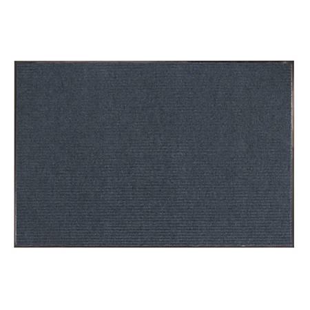 Office Depot® Brand Tough Rib Floor Mat, 4' x 6', Blue