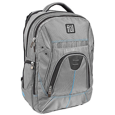 ful Gung-Ho Padded Laptop Backpack, Gray