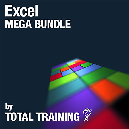 Excel Mega Bundle by Total Training, Download Version