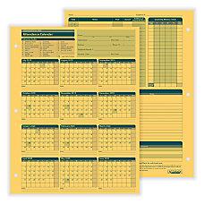 ComplyRight 2019 2020 Fiscal Attendance Calendar