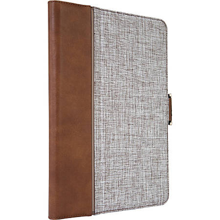 Targus VersaVu Signature 360 Rotating Case for iPad (5th gen./6th gen.), iPad Pro (9.7-inch), iPad Air 2, and iPad Air, Brown - Flip cover for tablet - brown - for Apple 9.7-inch iPad; 9.7-inch iPad Pro; iPad Air; iPad Air 2