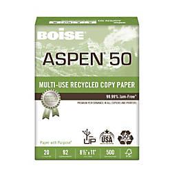 Boise ASPEN Multipurpose Paper 50 Letter