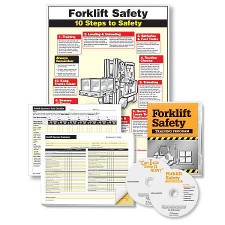 "ComplyRight Forklift Training Compliance Bundle, English, 18"" x 24"""