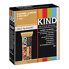 KIND Healthy Snack Bars Sea SaltCaramelAlmond