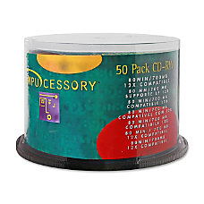 Compucessory CD Rewritable Media CD RW
