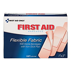 First Aid Only Fabric Bandages 1