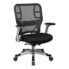 Office Star Deluxe R2 SpaceGrid Fabric