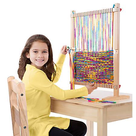 Melissa & Doug Multi-Craft Weaving Loom, Grade 1 - 6