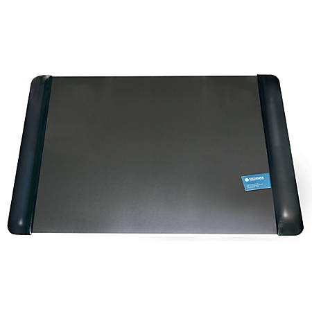 "Office Depot® Brand Executive Desk Pad With Microban®, 19"" x 24"", Black"