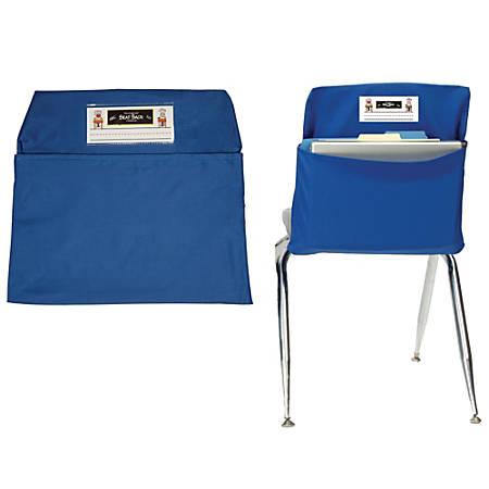"Seat Sack™ Organizers, Medium, 15"", Blue, Grades 1-3, Pack Of 2"