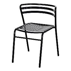 Safco CoGo IndoorOutdoor Chair Black Set