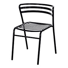 Safco CoGo IndoorOutdoor Chair Black Set