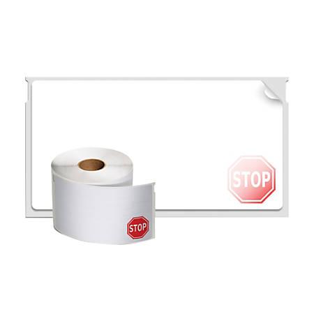 DYMO® LabelWriter® 30911 Time Expiring Adhesive Name Badge Labels
