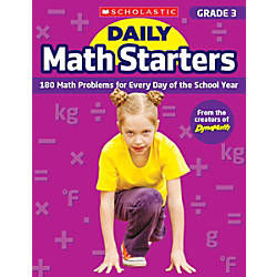Scholastic Teacher Resource Daily Math Starters