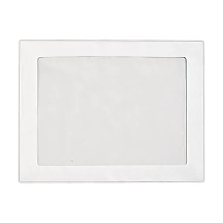 """LUX Full-Face Window Envelopes With Moisture Closure, #9, 8 3/4"""" x 11 1/2"""", Bright White, Pack Of 500"""