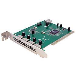 StarTechcom 7 Port PCI USB Card