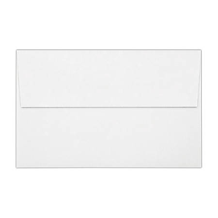 """LUX Invitation Envelopes With Peel & Press Closure, A10, 6"""" x 9 1/2"""", White, Pack Of 500"""