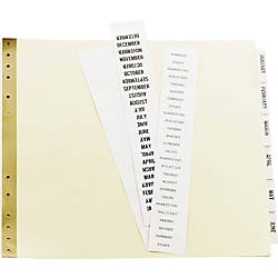 Avery 30percent Recycled Data Binder Tab