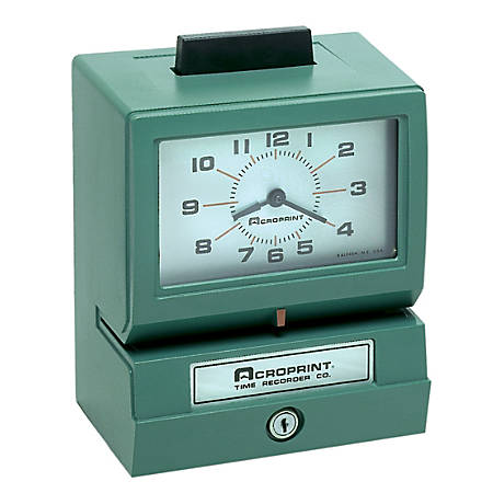 Acroprint 125NR4 Time Clock