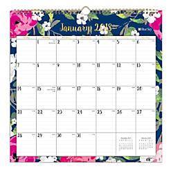Blue Sky Monthly Wall Calendar 12