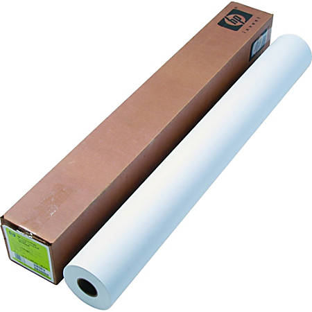 "HP Inkjet Print Coated Paper, Matte, Smooth, 42"" x 225', 35 Lb, White"