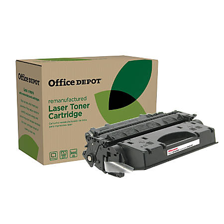 Office Depot® Brand OD80EHY (HP 80X / CF280X) Remanufactured Extra-High-Yield Black Toner Cartridge
