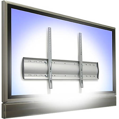 "Ergotron WM Low-Profile Wall Mount For Up To 32"" Flat-Panel TVs, 19"" x 23.6"" x 1.3"", Silver"