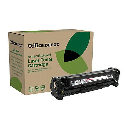Office Depot® Brand OD305AB (HP CE410A) Remanufactured Black Toner Cartridge