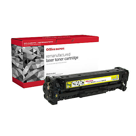 Office Depot® Brand OD305AY (HP CE412A) Remanufactured Yellow Toner Cartridge