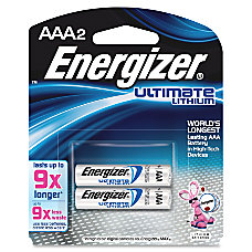 Energizer e2 Lithium AAA Batteries Pack