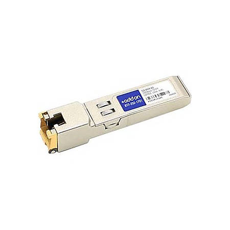 AddOn NetScout 321-0434 Compatible TAA Compliant 10/100/1000Base-TX SFP Transceiver (Copper, 100m, RJ-45) - 100% compatible and guaranteed to work