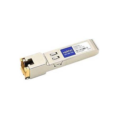 AddOn NetScout 321-0434 Compatible TAA Compliant 10/100/1000Base-TX SFP Transceiver (Copper, 100m, RJ-45)