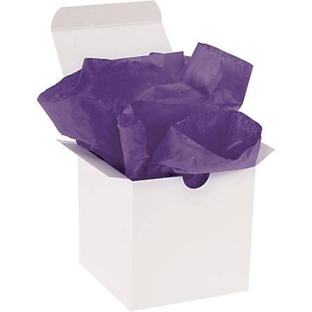"Office Depot® Brand Gift-Grade Tissue Paper, 15"" x 20"", Purple, Pack Of 960"