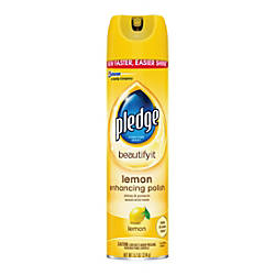 Pledge Lemon Clean Furniture Spray 97