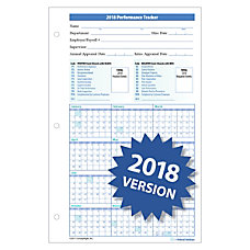 ComplyRight 2018 Supervisors Journal Refill Forms