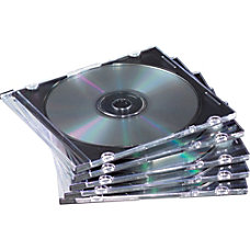 Fellowes Slim Jewel Cases 100 pack