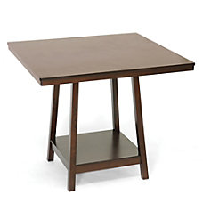 Baxton Studio Kelsey Counter Table Brown