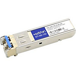 AddOn MSA and TAA Compliant 1000Base-CWDM SFP Transceiver (SMF, 1290nm, 80km, LC) - 100% compatible and guaranteed to work
