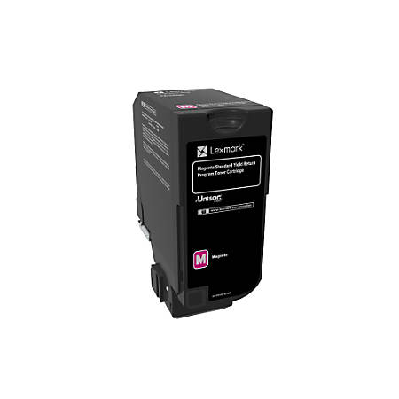 Lexmark™ Unison Return Program Toner Cartridge, 74C1SM0, Magenta
