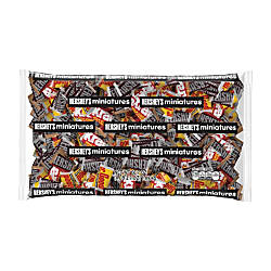 Hersheys Miniatures Assortment 667 Oz Bag