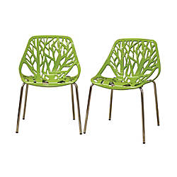 Baxton Studio Birch Sapling Stackable Chairs
