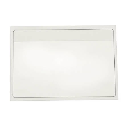 "Cardinal® HOLDit! Index Card Pocket, 3"" x 5"", Clear, Box Of 100"