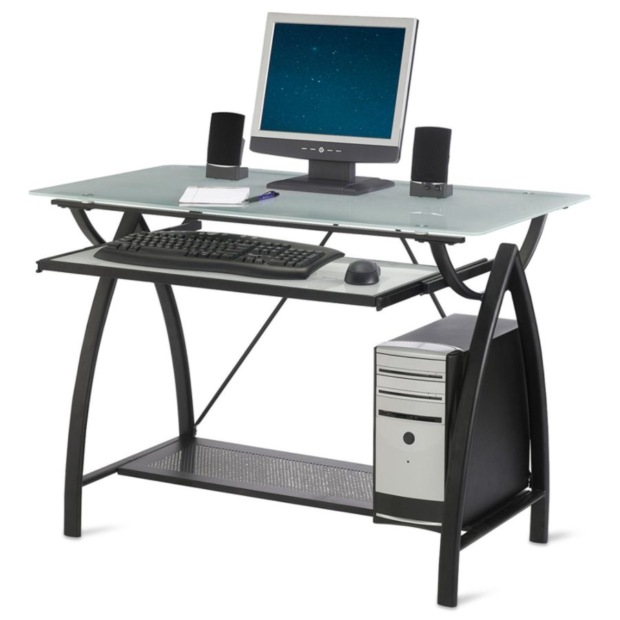 Realspace Alluna Collection Computer Desk 29 H x 39 12 W x 23 58 D