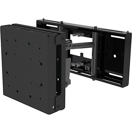 "Peerless-AV DSX750 Wall Mount for Flat Panel Display - Black - 32"" to 60"" Screen Support - 100 x 100, 200 x 100, 200 x 200 VESA Standard"