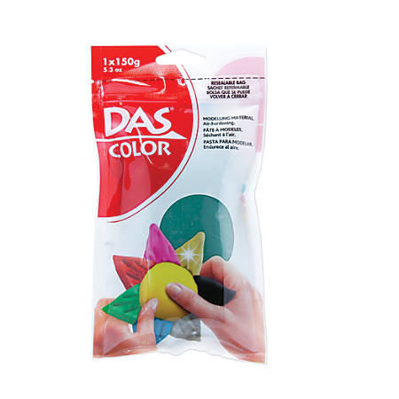prang das air hardening modeling clay green by office depot officemax