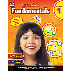 Thinking Kids Fundamentals Workbook First Grade