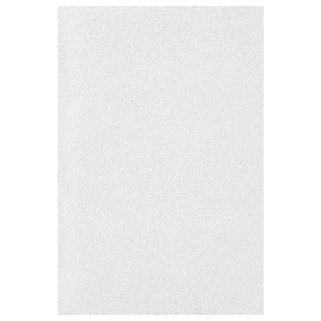 "Office Depot® Brand Flush-Cut Foam Pouches, 4"" x 6"", White, Case Of 500"