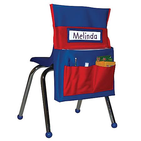 Carson-Dellosa Chairback Buddy, Blue/Red